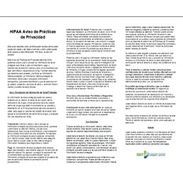 HIPAA spanish - Patient Forms