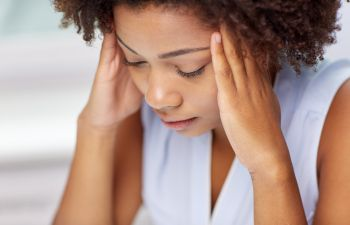 stresswoman - Four Psychological Impacts of Back Pain